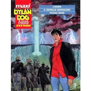 Dylan Dog Maxi - N° 4 - Esodo/Cristallo Arcobaleno/Piccole Bugie - Bonelli Editore