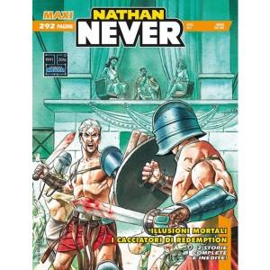 Nathan Never Maxi - N° 13 - Illusioni Mortali/I Cacciatori Di Redemption - Bonelli Editore