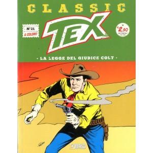 Tex Classic - N° 21 - Tex Classic - Bonelli Editore