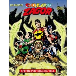 """Zagor Color - N° 6 - Spettri Per """"Digging"""" Bill - Bonelli Editore"""