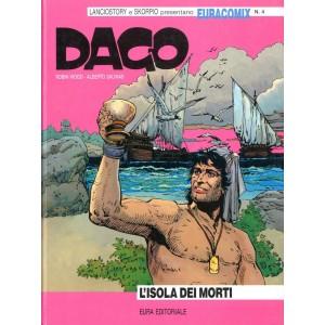 Euracomix - N° 4 - L'Isola Dei Morti - Dago Editoriale Aurea