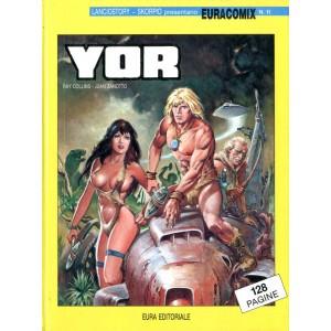 Euracomix - N° 11 - Yor - Editoriale Aurea