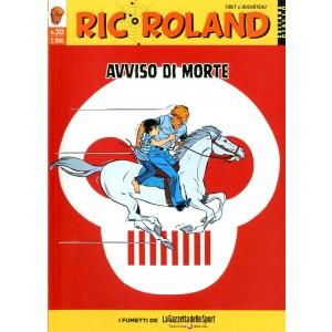 Ric Roland - N° 20 - Ric Roland 20 - La Gazzetta Dello Sport
