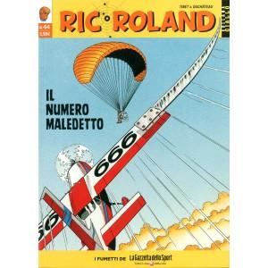 Ric Roland - N° 44 - Numero Maledetto - Collezionista Di Omicidi - Collana Giallo La Gazzetta Dello Sport