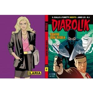 Diabolik Anno 53 - N° 4 - Contro Ogni Regola - Diabolik 2014 Astorina Srl
