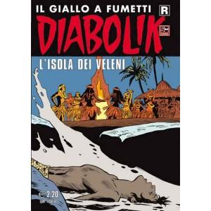 Diabolik Ristampa - N° 606 - L'Isola Dei Veleni - Astorina Srl