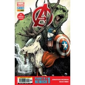 Avengers 14 Cover Animal - Avengers 14 - Cover Animal - Avengers Marvel Italia