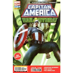 Avengers Deluxe Presenta - N° 2 - Capitan America - Hail Hydra! - Marvel Italia