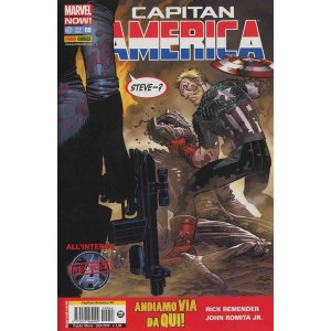 Capitan America (Marvel Now!) - N° 8 - Capitan America & Secret Avengers - Capitan America Marvel Italia