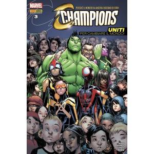 Champions - N° 3 - Champions - Marvel Italia