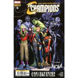 Champions - N° 8 - Champions - Marvel Italia