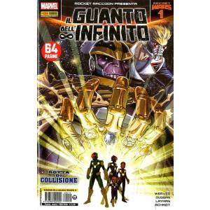 Guardiani Galassia Presenta - N° 12 - Il Guanto Dell'Infinito 1 - Rocket Raccoon Presenta Marvel Italia