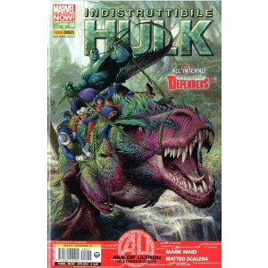 Indistruttibile Hulk - N° 9 - Indistruttibile Hulk - Hulk E I Difensori Marvel Italia