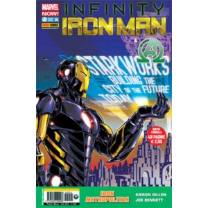 Iron Man - N° 14 - Iron Man & New Avengers - Marvel Italia