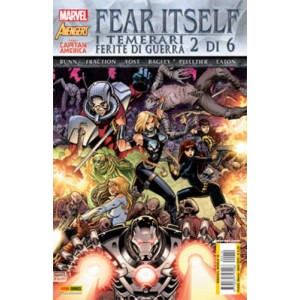 Marvel World - N° 10 - Fear Itself: I Temerari/Ferite Di Guerra 2 (M6) - Marvel Italia