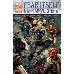 Marvel World - N° 11 - Fear Itself: I Temerari/Ferite Di Guerra 3 (M6) - Marvel Italia