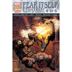 Marvel World - N° 12 - Fear Itself: I Temerari/Ferite Di Guerra 4 (M6) - Marvel Italia