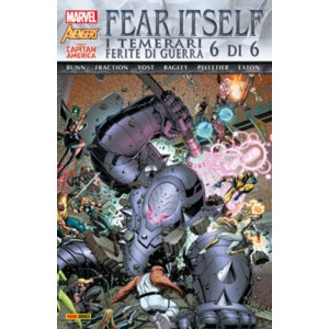 Marvel World - N° 14 - Fear Itself: I Temerari/Ferite Di Guerra 6 (M6) - Marvel Italia