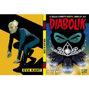 Diabolik Anno 54 - N° 9 - Morte In Alto Mare - Diabolik 2015 Astorina Srl