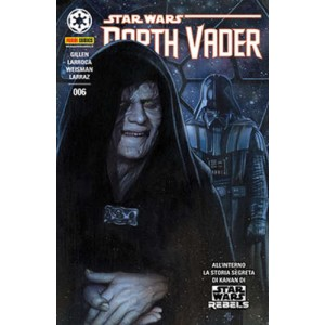 Darth Vader - N° 6 - Panini Dark 6 - Cover A - Panini Comics