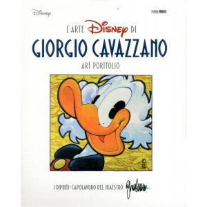 Portfolio Cavazzano Art Disney - N° 1 - Topogol 18 - Panini Comics
