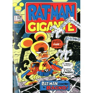 Rat-Man Gigante - N° 1 - Rat-Man Gigante - Panini Comics