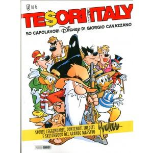 Tesori Made In Italy - N° 5 - 50 Capolavori Disney Di Giorgio Cavazzano - Panini Comics