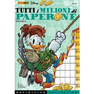 Definitive Collection - N° 4 - Tutti I Milioni Di Paperone 1 - Tutti I Milioni Di Paperone Panini Disney