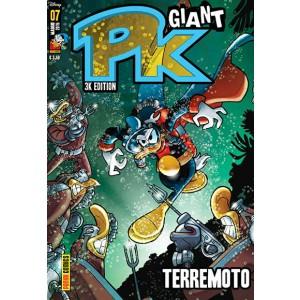 Pk Giant - N° 7 - 3K Edition - Terremoto - Panini Disney