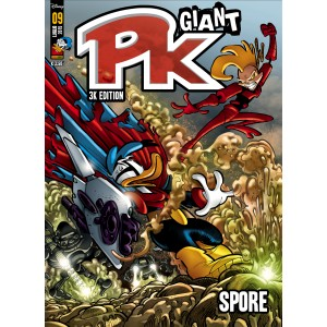 Pk Giant - N° 9 - Spore - Panini Disney