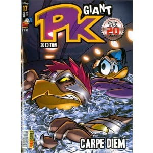 Pk Giant - N° 17 - Carpe Diem - Panini Disney