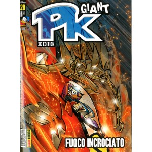 Pk Giant - N° 28 - Fuoco Incrociato - Panini Disney