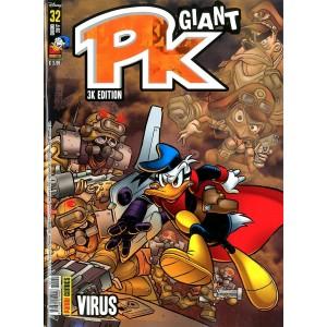 Pk Giant - N° 32 - Virus - Panini Disney