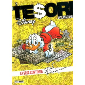 Tesori International - N° 2 - La Saga Continua Ristampa - Serie Ristampa Panini Disney