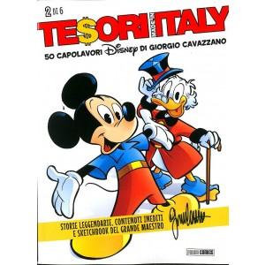 Tesori Made In Italy - N° 2 - 50 Capolavori Disney Di Giorgio Cavazzano - Panini Disney