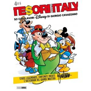 Tesori Made In Italy - N° 4 - 50 Capolavori Disney Di Giorgio Cavazzano - Panini Disney