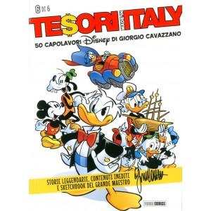 Tesori Made In Italy - N° 6 - 50 Capolavori Disney Di Giorgio Cavazzano - Panini Disney