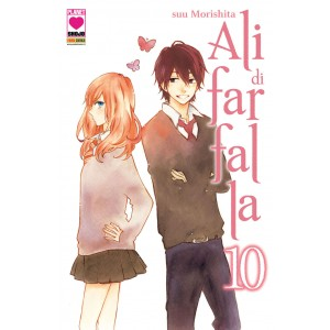 Ali Di Farfalla - N° 10 - Ali Di Farfalla (M12) - Planet Pink Planet Manga