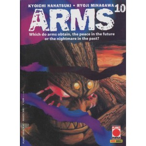 Arms - N° 10 - Arms 10 - Planet Manga Planet Manga