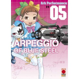 Arpeggio Of Blue Steel - N° 5 - Arpeggio Of Blue Steel - Manga Mix Planet Manga