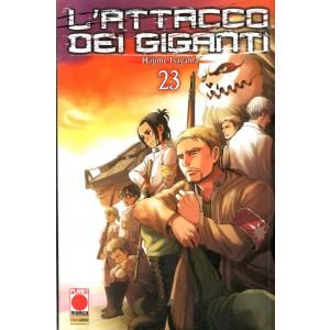 Attacco Dei Giganti - N° 23 - Attacco Dei Giganti - Generation Manga Planet Manga