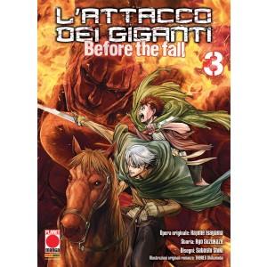 Attacco Dei Giganti Before The Fall - N° 3 - Attacco Dei Giganti Before The Fall - Manga Shock Planet Manga