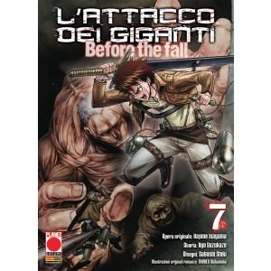 Attacco Dei Giganti Before The Fall - N° 7 - Attacco Dei Giganti Before The Fall - Manga Shock Planet Manga