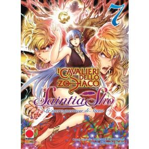 Cavalieri Zodiaco Saintia Sho - N° 7 - Le Sacre Guerriere Di Atena - Manga Legend Planet Manga