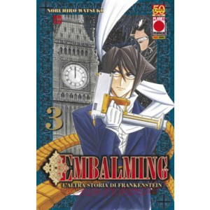 Embalming - N° 3 - L'Altra Storia Di Frankenstein - Manga Universe Planet Manga