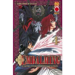 Embalming - N° 4 - L'Altra Storia Di Frankenstein - Manga Universe Planet Manga
