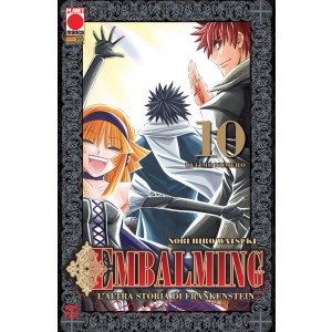 Embalming - N° 10 - L'Altra Storia Di Frankenstein - Manga Universe Planet Manga