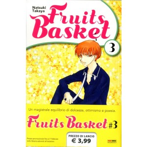 Fruits Basket - N° 3 - Fruits Basket - Manga Kiss Planet Manga