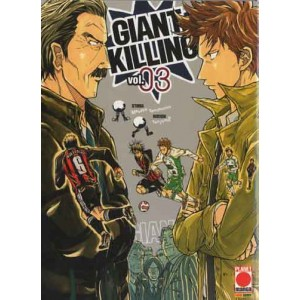 Giant Killing - N° 3 - Giant Killing - Manga Giants Planet Manga