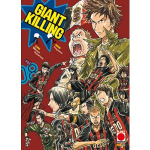 Giant Killing - N° 8 - Giant Killing - Manga Giants Planet Manga